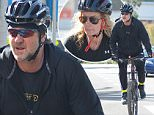 EXCLUSIVE: Russell Crowe and his ex-wife Danielle Spencer enjoy the perks of the good LA weather with a bike ride on the first days of spring in West Hollywood. The actor is fresh from collecting his Australian Academy of Cinema and Television Arts Awards from Nicole Kidman on Saturday. He's spotted with his ex-wife on their outing as she kept up with him on her bike. \n\nPictured: Russell Crowe and Danielle Spencer\nRef: SPL940011  020215   EXCLUSIVE\nPicture by: Vladimir Labissiere/Splash News\n\nSplash News and Pictures\nLos Angeles: 310-821-2666\nNew York: 212-619-2666\nLondon: 870-934-2666\nphotodesk@splashnews.com\n