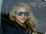 02.FEBRUARY.2015 - BARCELONA - SPAIN SHAKIRA LEAVES A BARCELONA HOSPITAL AFTER HER GIVING BIRTH HER SECOND BABY NAMED SASHA. THE COLOMBIAN SINGER LOOKED HEALTHY AND HAPPY AS SHE  LEFT WITH HER HUSBAND GERARD PIQUE.  **AVAILABLE FOR UK USE ONLY** BYLINE MUST READ: XPOSUREPHOTOS.COM ***UK CLIENTS - PICTURES CONTAINING CHILDREN PLEASE PIXELATE FACE PRIOR TO PUBLICATION *** *UK CLIENTS MUST CALL PRIOR TO TV OR ONLINE USAGE PLEASE TELEPHONE 0208 344 2007*