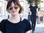 Dakota Johnson shops at The Detox Market and leaves with a green health juice and a bag of natural beauty products.\n\nPictured: Dakota Johnson\nRef: SPL941055  020215  \nPicture by: M A N I K (NYC)/ Splash News\n\nSplash News and Pictures\nLos Angeles: 310-821-2666\nNew York: 212-619-2666\nLondon: 870-934-2666\nphotodesk@splashnews.com\n