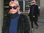 BAUER-GRIFFIN.COM Nicole Richie is seen at LAX NON EXCLUSIVE Feb 01, 2015 Job: 150201CHIN1 Los Angeles, CA www.bauergriffin.com