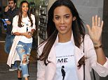 6 Feb 2015 - LONDON - UK  ROCHELLE HUMES SEEN LEAVING THE RADIO ONE STUDIOS AFTER CO-PRESENTING THE NICK GRIMSHAW SHOW.  BYLINE MUST READ : XPOSUREPHOTOS.COM  ***UK CLIENTS - PICTURES CONTAINING CHILDREN PLEASE PIXELATE FACE PRIOR TO PUBLICATION ***  **UK CLIENTS MUST CALL PRIOR TO TV OR ONLINE USAGE PLEASE TELEPHONE   44 208 344 2007 **