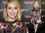 LOS ANGELES, CA - FEBRUARY 05:  Actress Emma Roberts attends Rolling Stone and Google Play event during Grammy Week at the El Rey Theatre on February 5, 2015 in Los Angeles, California.  (Photo by Jeff Kravitz/FilmMagic for Google)