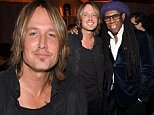 BEVERLY HILLS, CA - FEBRUARY 05:  (Exclusive Coverage)  Keith Urban and Nile Rodgers attend event honoring Nile Rodgers for his Recording Academy producers award at Private Residence on February 5, 2015 in Beverly Hills, California.  (Photo by Kevin Mazur/Getty Images for Apple)