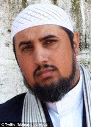 Threat: Mohammed Ansar, 39, a British documentary film-maker and journalist  was one of the figures singled out