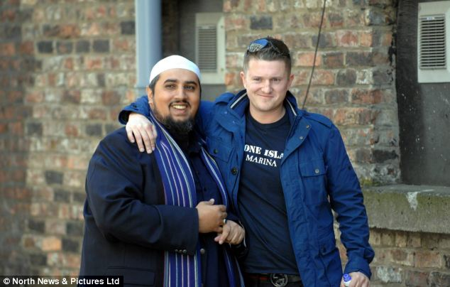 made a BBC film about ex-English Defence League leader Tommy Robinson, who he famously hugged in the aftermath of Lee Rigby's killing