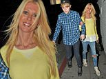06.FEBRUARY.2015 - LOS ANGELES - USA *** EXCLUSIVE ALL ROUND PICTURES *** AMERICAN ACTRESS TARA REID AND IRISH SINGING DUO JEDWARD SEEN LEAVING CHATEAU MARMONT ARM IN ARM IN LOS ANGELES, CALIFORNIA. THE TRIO BECAME FRIENDS AFTER STARRING IN CELEBRITY BIG BROTHER TOGETHER IN 2011. BYLINE MUST READ : XPOSUREPHOTOS.COM ***UK CLIENTS - PICTURES CONTAINING CHILDREN PLEASE PIXELATE FACE PRIOR TO PUBLICATION *** **UK CLIENTS MUST CALL PRIOR TO TV OR ONLINE USAGE PLEASE TELEPHONE 44 208 344 2007**