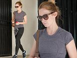 UK CLIENTS MUST CREDIT: AKM-GSI ONLY EXCLUSIVE: Emily Blunt ends her workout at Rise Movement gym in West Hollywood, CA. The actress keeps in tip top shape with her daily routine and it shows.  Pictured: Emily Blunt Ref: SPL943668  050215   EXCLUSIVE Picture by: AKM-GSI / Splash News