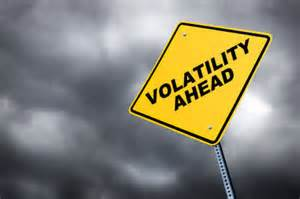 Volatility in cryptocurrency