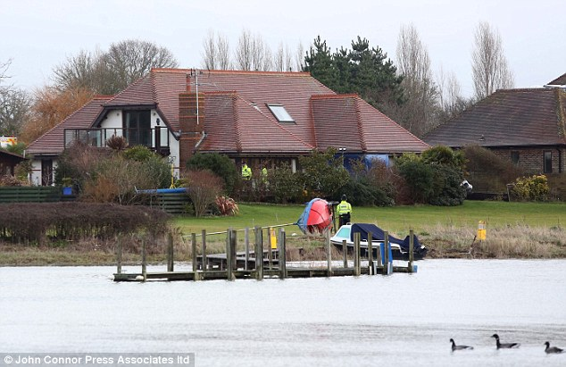 Police are investigating an advert on a well-known sex website, which suggests that the property in Bosham, West Sussex, could have been used as a venue for 'casual sex' and a 'discreet relationship'