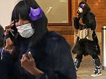 "MUST BYLINE: EROTEME.CO.UK\n****MINIMUM FEE £300 POUNDS PER PICTURE****\n****NO WEB OR BLOG WITHOUT APPROVAL****\nNaomi Campbell arrives in London's Eurostar terminal, Kings Cross St Pancras. The supermodel could be seen wearing a medical mask as she was trying to protect herself from viral threats like Ebola.  The model has previously told The Edit that ìThe next time I travel, I will have a mask, latex gloves, bleach and sprays."" ìI travel so much you have to do whatever you have to do to make yourself feel safe until we are told otherwise.î\nEXCLUSIVE    February 7,  2014\nJob: 150128L1    London, England\nEROTEME.CO.UK\n44 207 431 1598\n"