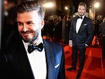 Mandatory Credit: Photo by Richard Young/REX (4418644aw)\n David Beckham\n EE BAFTA British Academy Film Awards, Arrivals, Royal Opera House, London, Britain - 08 Feb 2015\n \n