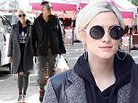 Studio City, CA - Songstress Ashlee Simpson hides her baby bump as she makes a trip to the local Farmers Market with her husband, Evan Ross.  The two affectionately held hands as they visited various kiosks and booths before making their way back to their vehicle. \nAKM-GSI       February 8, 2015\nTo License These Photos, Please Contact :\nSteve Ginsburg\n(310) 505-8447\n(323) 423-9397\nsteve@akmgsi.com\nsales@akmgsi.com\nor\nMaria Buda\n(917) 242-1505\nmbuda@akmgsi.com\nginsburgspalyinc@gmail.com