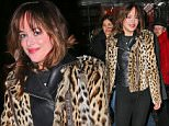Dakota Johnson heads out for dinner in NYC in a leopard jacket.\n\nPictured: Dakota Johnson\nRef: SPL945444  070215  \nPicture by: XactpiX\n\nSplash News and Pictures\nLos Angeles: 310-821-2666\nNew York: 212-619-2666\nLondon: 870-934-2666\nphotodesk@splashnews.com\n