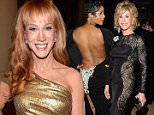 Kathy Griffin Jane FondaToni Braxton LOS ANGELES, CA - FEBRUARY 07:  Kathy Griffin attends the Pre-GRAMMY Gala And Salute To Industry Icons Honoring Martin Bandier at The Beverly Hilton on February 7, 2015 in Los Angeles, California.  (Photo by Kevin Mazur/WireImage)