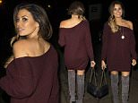 ** EXCLUSIVE IMAGES ** TOWIES JESS WRIGHT SEEN LEAVING THE 02 AFTER WATCHING BROTHER MARK WRIGHT IN STRICTLY - SUNDAY 8TH FEBRUARY 2015- PLEASE CREDIT - RA-PIX.CO.UK - 07774 321240 - ASHLEY - STANDARD   35 AN IMAGE