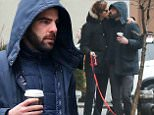 Zachary Quinto and Miles McMillan walk their dogs in NYC.\n\nPictured: Zachary Quinto and Miles McMillan\nRef: SPL945679  080215  \nPicture by: Splash News\n\nSplash News and Pictures\nLos Angeles: 310-821-2666\nNew York: 212-619-2666\nLondon: 870-934-2666\nphotodesk@splashnews.com\n