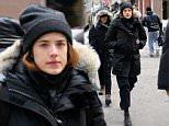 EXCLUSIVE: English fashion model Agyness Deyn, wearing a Canada Goose down jacket, walks through SoHo on February 6, 2015 in New York City.  Pictured: Agyness Deyn Ref: SPL944659  060215   EXCLUSIVE Picture by: Christopher Peterson/Splash News  Splash News and Pictures Los Angeles: 310-821-2666 New York: 212-619-2666 London: 870-934-2666 photodesk@splashnews.com
