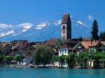 AX9GY4 Interlaken Bernese Oberland Switzerland