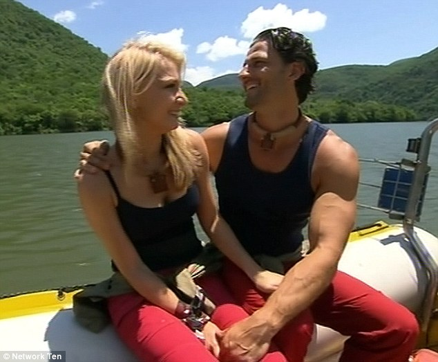 Strong: Anna revealed she relied on Tim a lot and said she hoped fellow campers wouldn't judge her harshly for that
