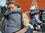 HEAVILY PREGNANT CORRIE STAR CATHERINE TYDESLEY POPS TO LOCAL SHOP NEAR HER HOME IN MANCHESTER,3 WEEKS UNTIL SHE GIVES BIRTH SHE LOOKED FIT TO BURST AS SHE CARRIED SHOPPIBG BACK TO HER CAR  PICS JOHN MATHER 07810861711