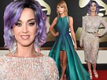 LOS ANGELES, CA - FEBRUARY 08: Recording Artist Katy Perry attends The 57th Annual GRAMMY Awards at the STAPLES Center on February 8, 2015 in Los Angeles, California.  (Photo by Larry Busacca/Getty Images for NARAS)