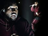 """Kanye West performs """"Only One"""" at the 57th annual Grammy Awards in Los Angeles, California February 8, 2015.   REUTERS/Lucy Nicholson (UNITED STATES  - Tags: ENTERTAINMENT)   (GRAMMYS-SHOW)"""