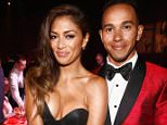 CAP D'ANTIBES, FRANCE - MAY 22:  (L-R) Nicole Scherzinger and Lewis Hamilton attend amfAR's 21st Cinema Against AIDS Gala Presented By WORLDVIEW, BOLD FILMS, And BVLGARI at Hotel du Cap-Eden-Roc on May 22, 2014 in Cap d'Antibes, France.  (Photo by Andreas Rentz/amfAR14/WireImage)