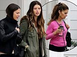 UK CLIENTS MUST CREDIT: AKM-GSI ONLY EXCLUSIVE: Katherine Schwarzenegger lets a friend and her mom, Maria Shriver, tag along as she goes house hunting near the Santa Monica Airport.  The three also met up with Bobby Shriver and the four proceeded to go inside the house.  Pictured: Katherine Schwarzenegger Ref: SPL946385  080215   EXCLUSIVE Picture by: AKM-GSI / Splash News