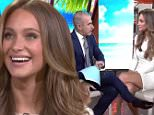 Hannah Davis on The Today Show