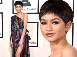 LOS ANGELES, CA - FEBRUARY 08:  Actress/singer Zendaya attends The 57th Annual GRAMMY Awards at the STAPLES Center on February 8, 2015 in Los Angeles, California.  (Photo by Jason Merritt/Getty Images)