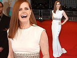 Mandatory Credit: Photo by Jonathan Hordle/REX (4418649bd)\n Amy Adams\n EE BAFTA British Academy Film Awards, Arrivals, Royal Opera House, London, Britain - 08 Feb 2015\n \n