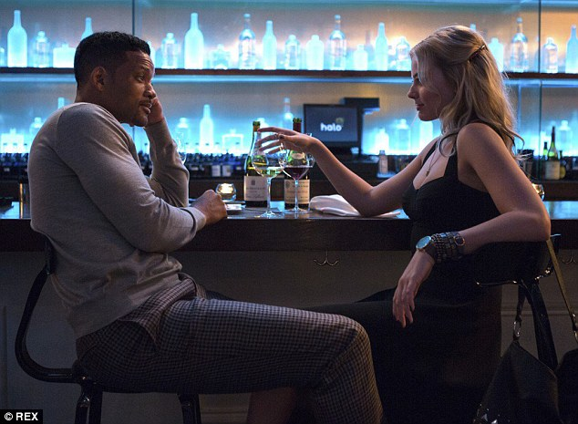 Grand return: The role, which sees her star oppostite Will Smith, will mark her first time on the silver screen since her breakthrough performance in 2013's Wolf Of Wall Street