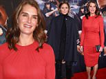 """NEW YORK, NY - FEBRUARY 09:  Brooke Shields  attends """"Kingsman: The Secret Service"""" New York Premiere at SVA Theater on February 9, 2015 in New York City.  (Photo by Stephen Lovekin/Getty Images)"""