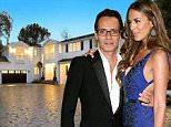 Marc Anthony's new Mansion in Tarzana, CA