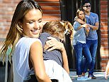Picture Shows: Jessica Alba, Cash Warren  February 08, 2015    Actress Jessica Alba enjoys a day at Coldwater Canyon Park in Beverly Hills, California with her husband Cash Warren and their daughters Haven & Honor.    Non-Exclusive  UK RIGHTS ONLY    Pictures by : FameFlynet UK    2015  Tel : +44 (0)20 3551 5049  Email : info@fameflynet.uk.com