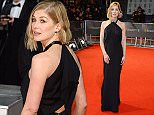 LONDON, ENGLAND - FEBRUARY 08:  Rosamund Pike attends the EE British Academy Film Awards at The Royal Opera House on February 8, 2015 in London, England.  \nPic Credit: Dave Benett