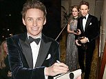LONDON, ENGLAND - FEBRUARY 08:  Eddie Redmayne (R) and Hannah Bagshawe attend the after party for the EE British Academy Film Awards at The Grosvenor House Hotel on February 8, 2015 in London, England.  (Photo by David M. Benett/Getty Images)