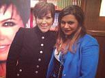 Mindy Lahiri & Kris Jenner: Best friends? @krisjenner #comingsoon #themindyproject