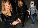 Mandatory Credit: Photo by Broadimage/REX (4383906d).. Kate Hudson.. Kate Hudson and Goldie Hawn at LAX International Airport, Los Angeles, America - 27 Jan 2015.. Kate Hudson and Goldie Hawn arrives at the Los Angeles International Airport..