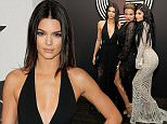 HOLLYWOOD, CA - FEBRUARY 08:  (L-R) TV personalities Kendall Jenner, Khloe Kardashian, and Kylie Jenner attend GQ and Giorgio Armani Grammys After Party at Hollywood Athletic Club on February 8, 2015 in Hollywood, California.  (Photo by Rachel Murray/Getty Images for GQ)