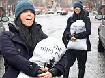 Picture Shows: Sarah Silverman  February 09, 2015\n \n Comedian Sarah Silverman is spotted carrying her laundry while out and about in New York City, New York. Sarah is currently getting high praise from critics for her performance in the new film 'I Smile'.\n \n Non Exclusive\n UK RIGHTS ONLY \n \n Pictures by : FameFlynet UK © 2015\n Tel : +44 (0)20 3551 5049\n Email : info@fameflynet.uk.com