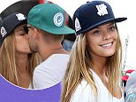 MAVRIXONLINE.COM - WORLDWIDE - Sports Illustrated model Nina Agdal spends the day with boyfriend Reid Heidenry and other friends at the Model Beach Volleyball Tournament in Miami Beach, FL. February 8, 2015.\nByline, credit, TV usage, web usage or linkback must read MAVRIXONLINE.COM.\nFailure to byline correctly will incur double the agreed fee.\nTel: +1 305 542 9275.