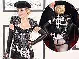 Madonna at the 57th Annual Grammy Awards held at The Staples Center on February 8, 2015.  Pictured: Madonna Ref: SPL946332  080215   Picture by: AdMedia / Splash News  Splash News and Pictures Los Angeles: 310-821-2666 New York: 212-619-2666 London: 870-934-2666 photodesk@splashnews.com