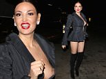 EXCLUSIVE: Bleona Qereti star of Euro's of Hollywood has nip slip before entering the OK! magazine party.\\n\\nPictured: Bleona Qereti \\nRef: SPL945569  070215   EXCLUSIVE\\nPicture by: TwisT / Splash News\\n\\nSplash News and Pictures\\nLos Angeles: 310-821-2666\\nNew York: 212-619-2666\\nLondon: 870-934-2666\\nphotodesk@splashnews.com\\n
