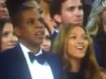 Jay Z Reaction to Kanye Running on stage