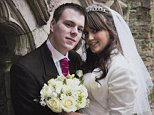 Pictured: Lindsay and Robert Wood's Wedding Day. Photo credit should read: PA Real Life Features/Collect.  Story:  Lindsay, now 23, suffered horrific third-degree burns to half her body including her face following a car crash on her driving lesson in 2009. Her boyfriend of 10 months, Robert, now 26, could have left her but did not. Instead he helped her walk again. Her family were very supportive and  her dad, even quit his job to support her. In March 2013 the couple married and Lindsay did not notice the scars on her face when she walked down the aisle to Robert, arm-in-arm with her dad. WARNING: This photograph is the copyright of PA Real Life Features. Any use and publication of this image whatsoever including print, internet and other online communication services, advertising and commercial usage will require a separate prior agreement with PA Real Life Features Editor Rachel Williams on +44 (0) 2079637242