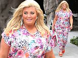 Mandatory Credit: Photo by Beretta/Sims/REX (4424372s)  Gemma Collins  'The Only Way is Essex' Cast in Tenerife, Spain - 10 Feb 2015
