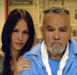 ***MUST CREDIT POLARIS IMAGES***  EXCLUSIVE: June 13, 2010 - Corcoran, California, United States: Charles Manson, imprisoned for life for association with a series of murders in the 1960s. Star and Gray Wolf have befriended the convict and the 25-year-old 'fan' he named Star visits him every Saturday and Sunday. In an interview she gave Rolling Stone magazine she is to marry Manson whom she already considers her husband. She moved near the Corcoran State Prison when she was 19, to be closer to him and has carved an X into her forehead - as many Manson followers have made on their foreheads over the years - matching the swastika tattoo he has. Star runs multiple websites calling for Manson's release. Her friend Craig Carlisle Hammond, 63, who Manson has renamed 'Gray Wolf' also makes prison visits. In 1969, Manson ordered his Family members to slaughter Sharon Tate, the actress wife of Roman Polanski, and three of her friends at her home above Beverly Hills. Tate was eight-and-a-half m