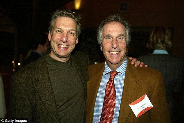 Happier Times: Summers is seen here with producer Henry Winkler at an event in LA in 2003