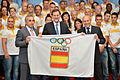 Pres. Rajoy con gran parte de la delegacion de deportistas españoles que iran a Londres 2012.jpg